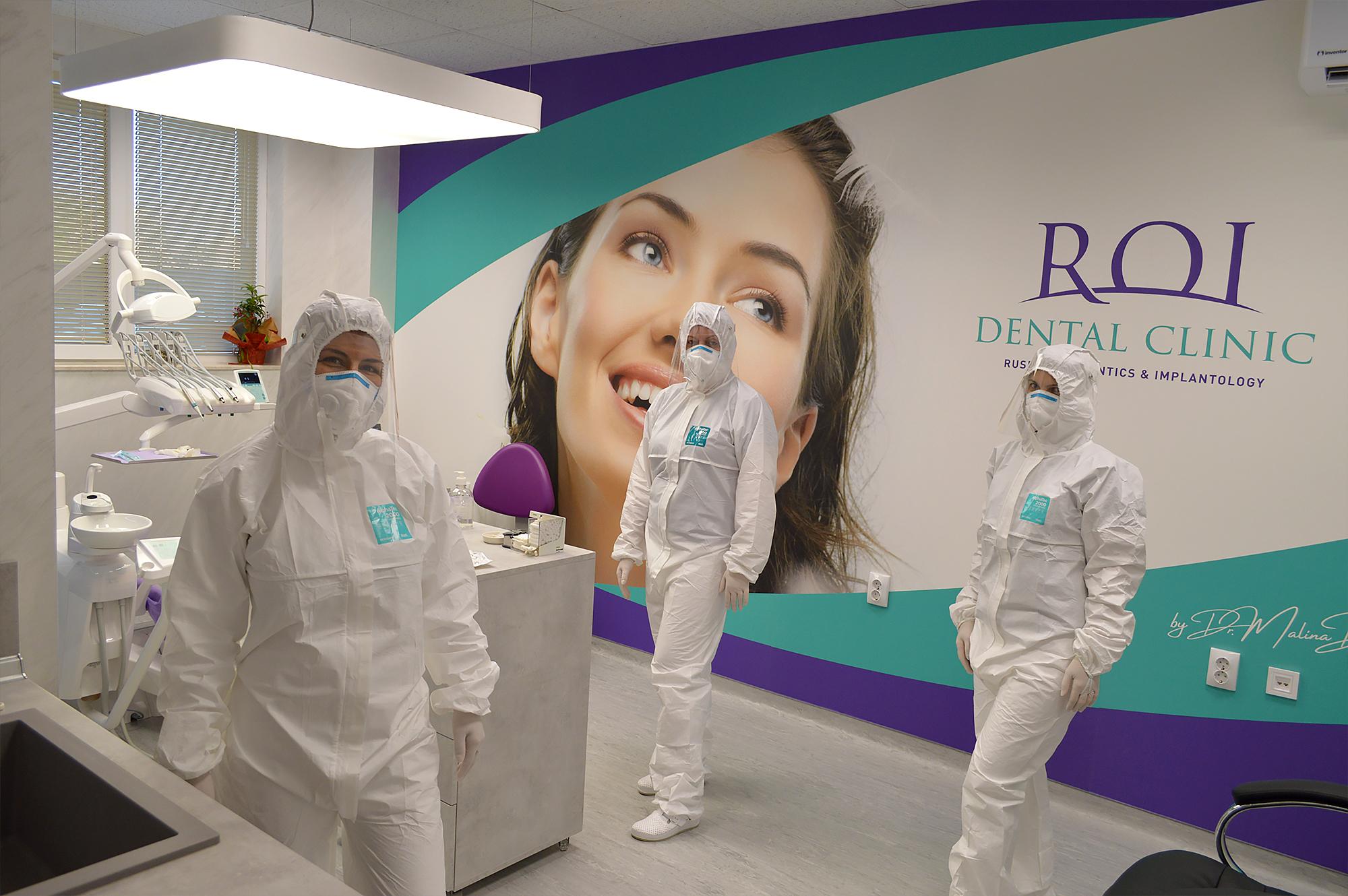 ROI Dental Clinic ще работи с пациенти, които имат нужда от консултация или лечение.