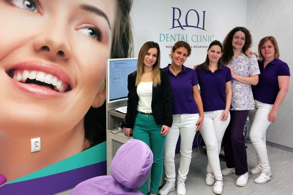 Екипът на ROI Dental Clinic